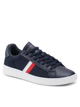 Tommy Hilfiger Tommy Hilfiger Sneakers Cupsole Court Stripes Knit Mix FM0FM03606 Bleu marine