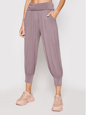 Deha Deha Pantalon jogging Move B24547 Violet Loose Fit