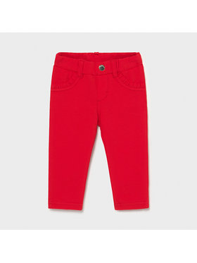 Mayoral Mayoral Pantaloni din material 550 Roșu Super Skinny Fit