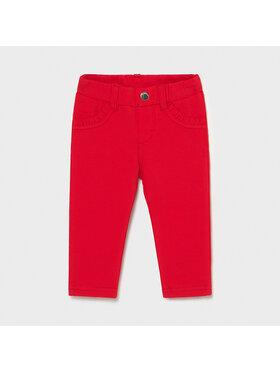 Mayoral Mayoral Spodnie materiałowe 550 Czerwony Super Skinny Fit