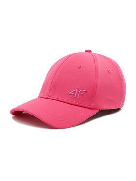 4F 4F Бейсболка H4L21-CAD002 Рожевий