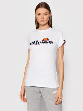 Ellesse Ellesse T-Shirt Hayes SGK11399 Biały Regular Fit