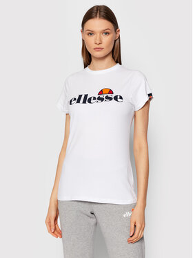 Ellesse Ellesse T-Shirt Hayes SGK11399 Bílá Regular Fit
