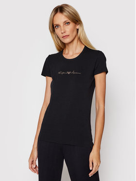 Emporio Armani Underwear Emporio Armani Underwear T-Shirt 163139 1P223 00020 Czarny Regular Fit