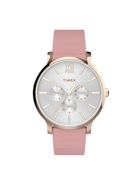 Timex Timex Часовник Transcend TW2T74300 Розов