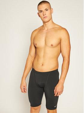 Nike Nike Maillot de bain homme Hydrastrong Solid Jammer NESSA006 Noir Slim Fit