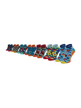 Jack&Jones Jack&Jones Rinkinys: 7 poros žemų vyriškų kojinių Jacsummer 12192583 r. OS Spalvota