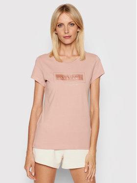 4F 4F T-Shirt H4L21-TSD034 Ροζ Regular Fit