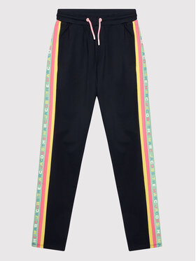 Little Marc Jacobs Little Marc Jacobs Teplákové kalhoty W14278 D Tmavomodrá Regular Fit