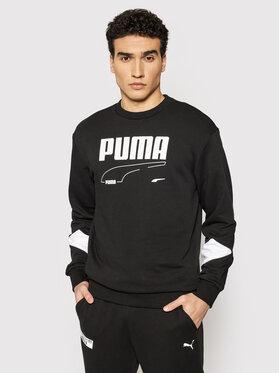 Puma Puma Bluza Rebel 585740 Czarny Regular Fit