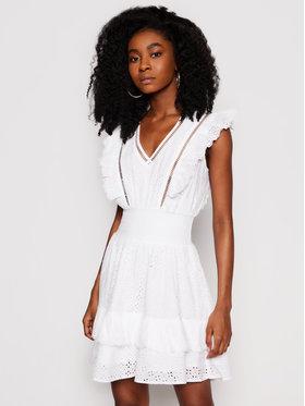 Guess Guess Robe d'été W1GK0H WDVE1 Blanc Regular Fit