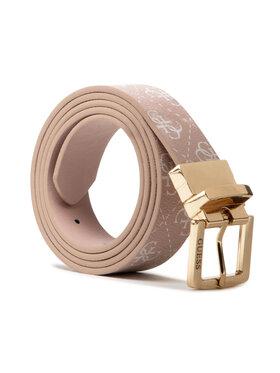 Guess Guess Moteriškas Diržas Washington Belts BW7502 VIN30 Rožinė