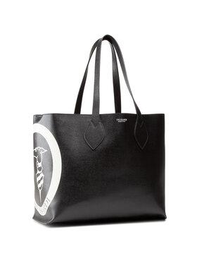 Trussardi Trussardi Geantă Logo Pop Shopping Md 75B01065 Negru