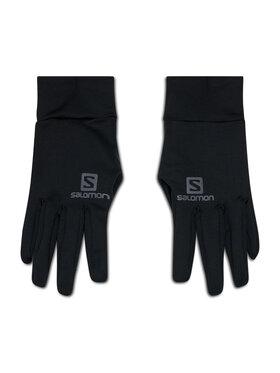 Salomon Salomon Moteriškos Pirštinės Insulated Gloves 390144 01 L0 Juoda