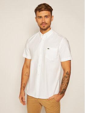 Lacoste Lacoste Koszula CH4975 Biały Regular Fit