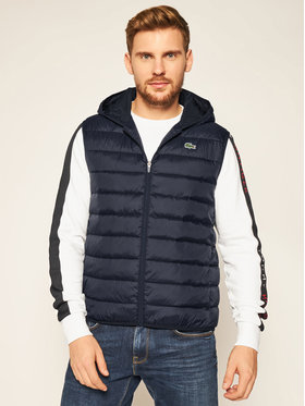 Lacoste Lacoste Gilet BH1552 Blu scuro Regular Fit