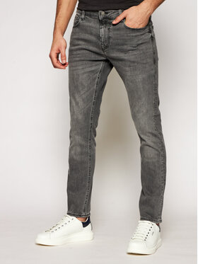 Guess Guess Jeans Chris M1YA27 D4F54 Grau Super Skinny Fit