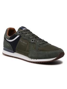 Pepe Jeans Pepe Jeans Sneakersy Jayker Dual PMS30478 Zelená