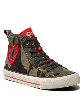 Desigual Desigual Laisvalaikio batai Beta Militar 21WSKA13 Žalia