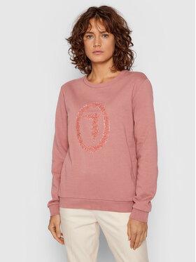 Trussardi Trussardi Sweatshirt 56F00169 Rosa Regular Fit