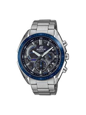 Casio Casio Zegarek Edifice EFR-570DB-1BVUEF Srebrny