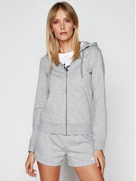adidas adidas Bluza W Essentials PLN Fz Hd DU0664 Szary Regular Fit