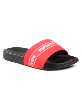 Superdry Superdry Чехли Tape Pool Slide MF310058A Розов