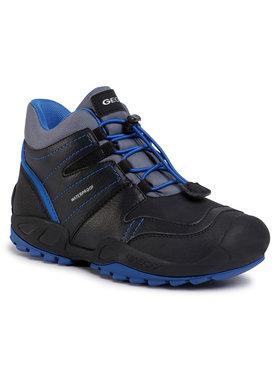 Geox Geox Обувки J N.Savage B.Wpf C J04CBC 0FEFU C0245 D Черен