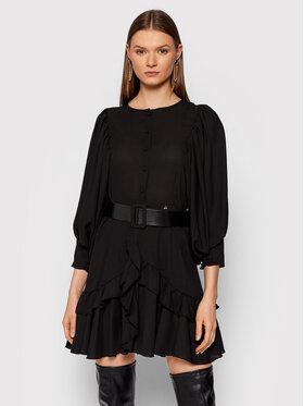 Rinascimento Rinascimento Sukienka codzienna CFC0105039003 Czarny Regular Fit