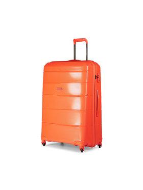 Puccini Puccini Nagy kemény borítású bőrönd Bahamas PP016A 9 Narancssárga