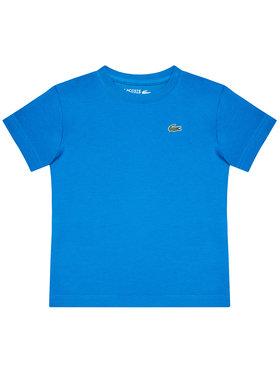 Lacoste Lacoste Marškinėliai TJ8811 Mėlyna Regular Fit