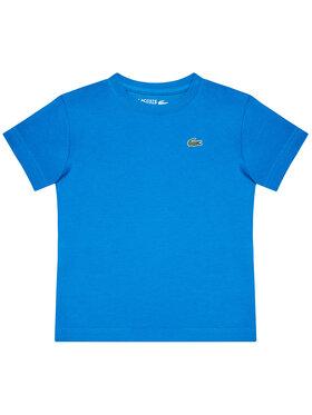 Lacoste Lacoste Tričko TJ8811 Modrá Regular Fit