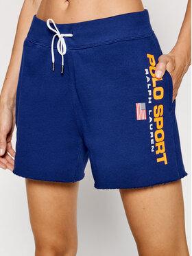 Polo Ralph Lauren Polo Ralph Lauren Pantaloni scurți sport Sho 211838094002 Bleumarin Regular Fit
