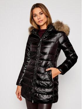 Woolrich Woolrich Pernate jakne Clover Long CFWWOU0339FRUT1917 Crna Slim Fit