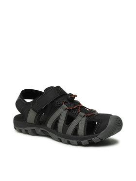 4F 4F Sandále D4L21-SAM203 Čierna