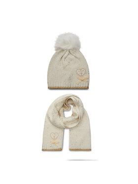 Guess Guess Комплект шал и шапка J0BZ13 Z2QP0 Бял