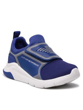 EA7 Emporio Armani EA7 Emporio Armani Sneakersy XSX016 XOT44 M537 Granatowy