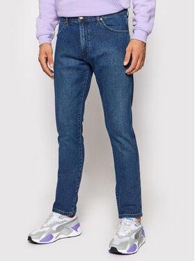 Wrangler Wrangler Jeans Larston W18SU551Q Blu scuro Slim Tapered Fit