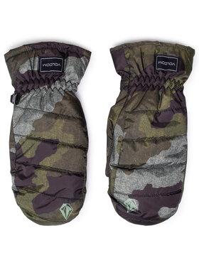 Volcom Volcom Snoubordové rukavice K6852109 Zelená