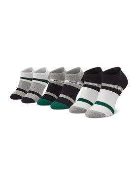 Pepe Jeans Pepe Jeans Set di 3 paia di calzini corti da uomo Dunham PMU10708 Nero