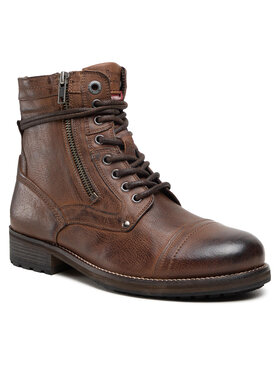 Pepe Jeans Pepe Jeans Trapery Melting High PMS50206 Brązowy