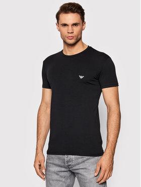 Emporio Armani Underwear Emporio Armani Underwear T-Shirt 111035 1A512 00020 Czarny Slim Fit