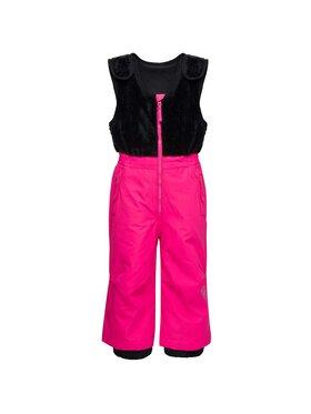 Rossignol Rossignol Pantaloni da sci Flocon RLIYP14 Rosa Slim Fit