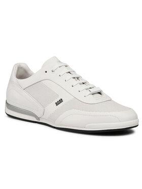 Boss Boss Sneakersy Saturn 50452010 10230186 01 Bílá