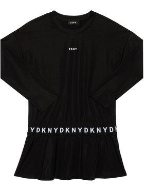 DKNY DKNY Každodenní šaty D32761 D Černá Regular Fit