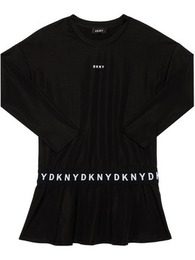DKNY DKNY Vestito da giorno D32761 D Nero Regular Fit
