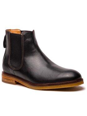 Clarks Clarks Kotníková obuv s elastickým prvkem Clarkdale Gobi 261362547 Černá