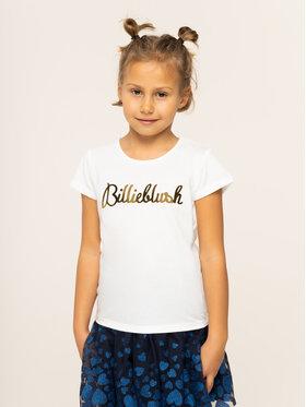 Billieblush Billieblush T-Shirt U15P02 Biały Regular Fit