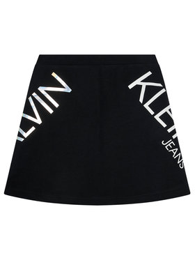 Calvin Klein Jeans Calvin Klein Jeans Spódnica Hero Logo IG0IG00607 Czarny Regular Fit