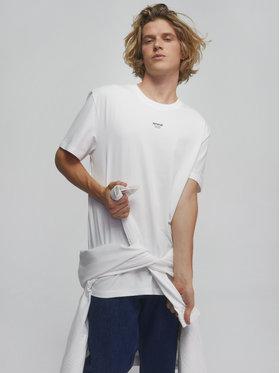 Sprandi Sprandi Marškinėliai SS21-TSM007 Balta Regular Fit